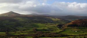 Sugar loaf mountain brecon beacons national park wales
